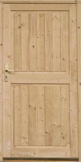 Fabulous CLASSIC Holz-Nebeneingangstüren: NONNENMACHER & RIEGG OM59